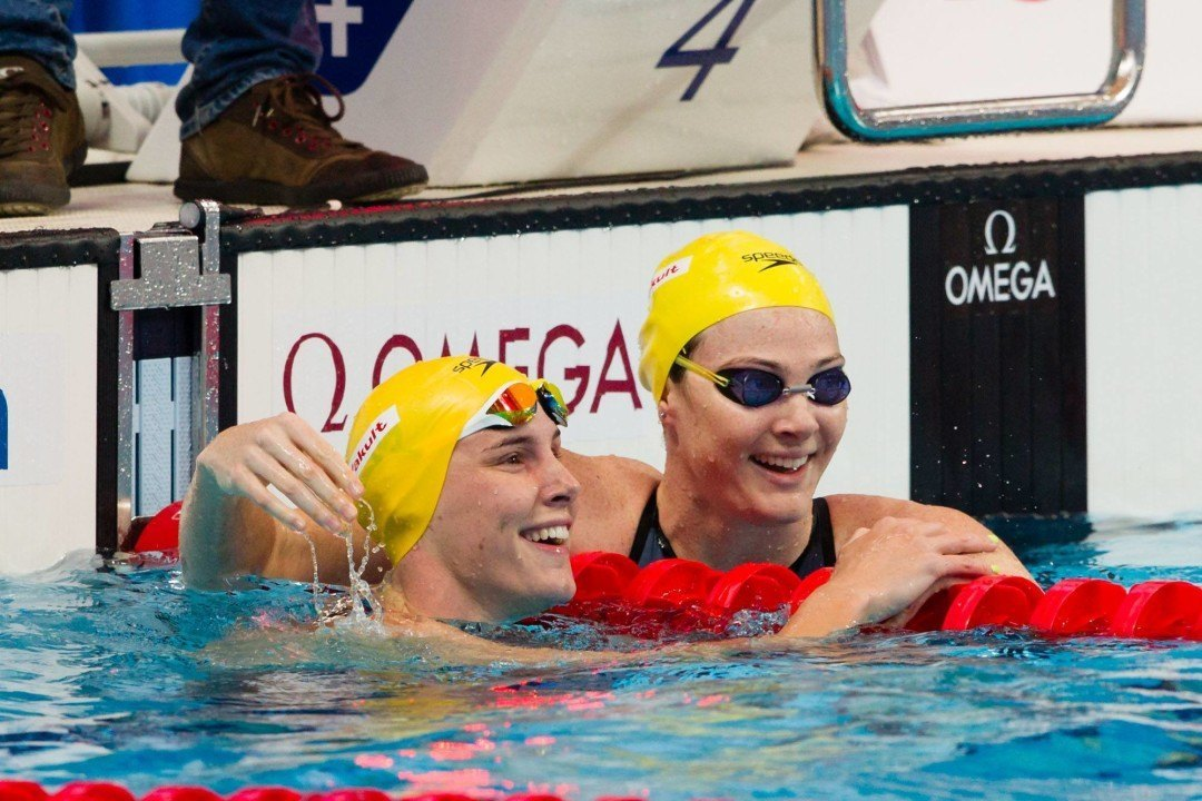 Australian Women's 4×100 Free Relay Sets New Olympic Record in Prelims
