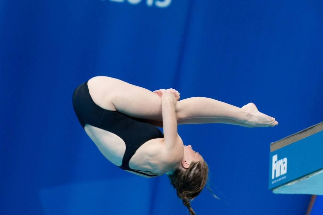 Two Pairs Win Mixed Synchronized Diving National Titles