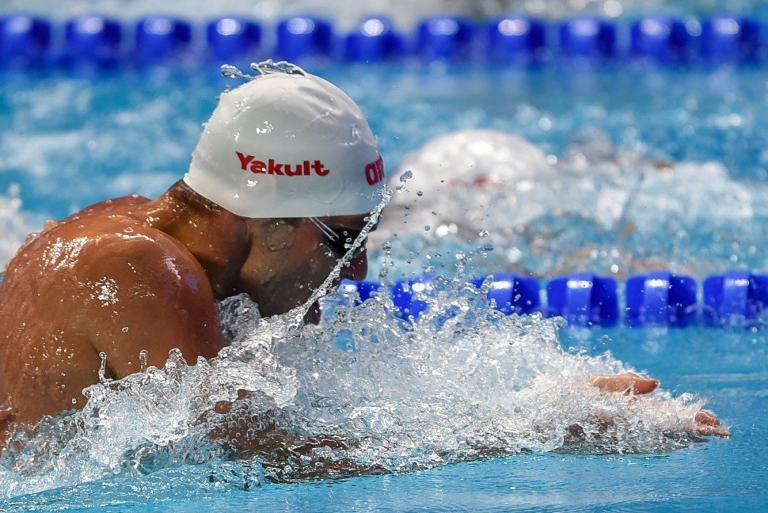 Caba Silađi Clocks 100 Breast Serbian Record In Hungary