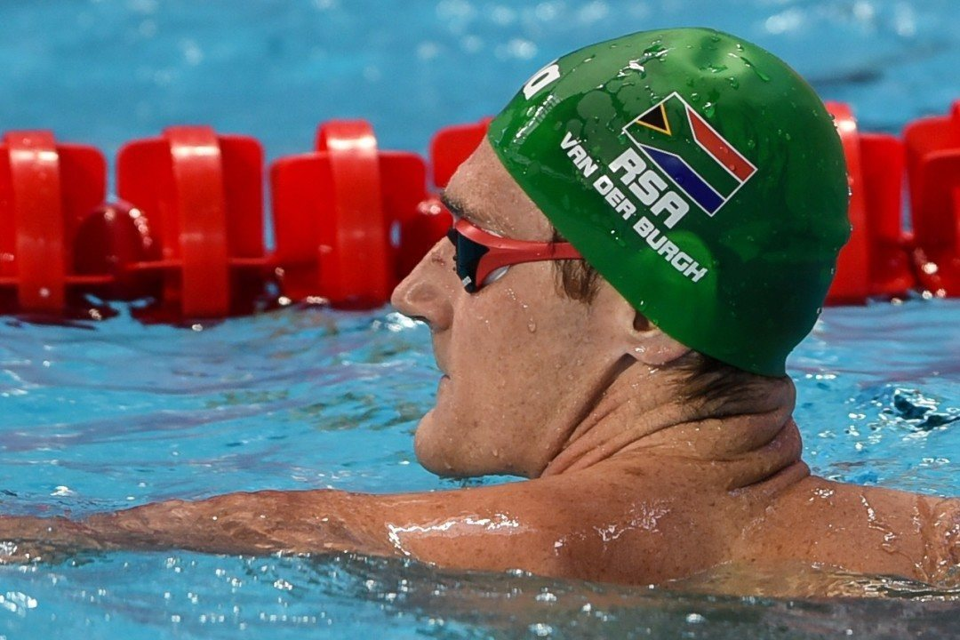 Cameron van der Burgh Qualifies At 1st Session Of South African Trials