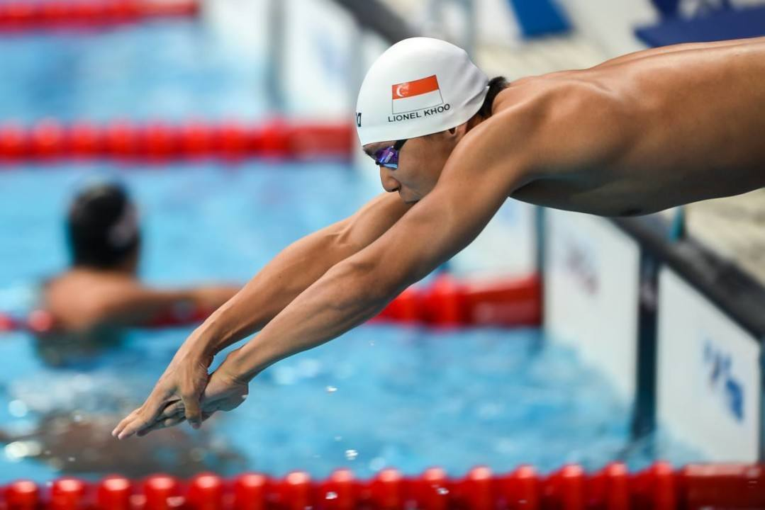 Singapore's Lionel Khoo Clocks Double Breaststroke National Records