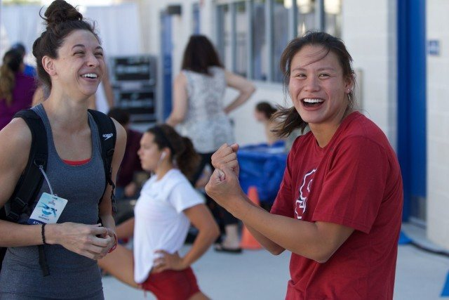 Maddie Locus and Felicia Lee at 2015 U.S. Nationals (courtesy of Rafael Domeyko)