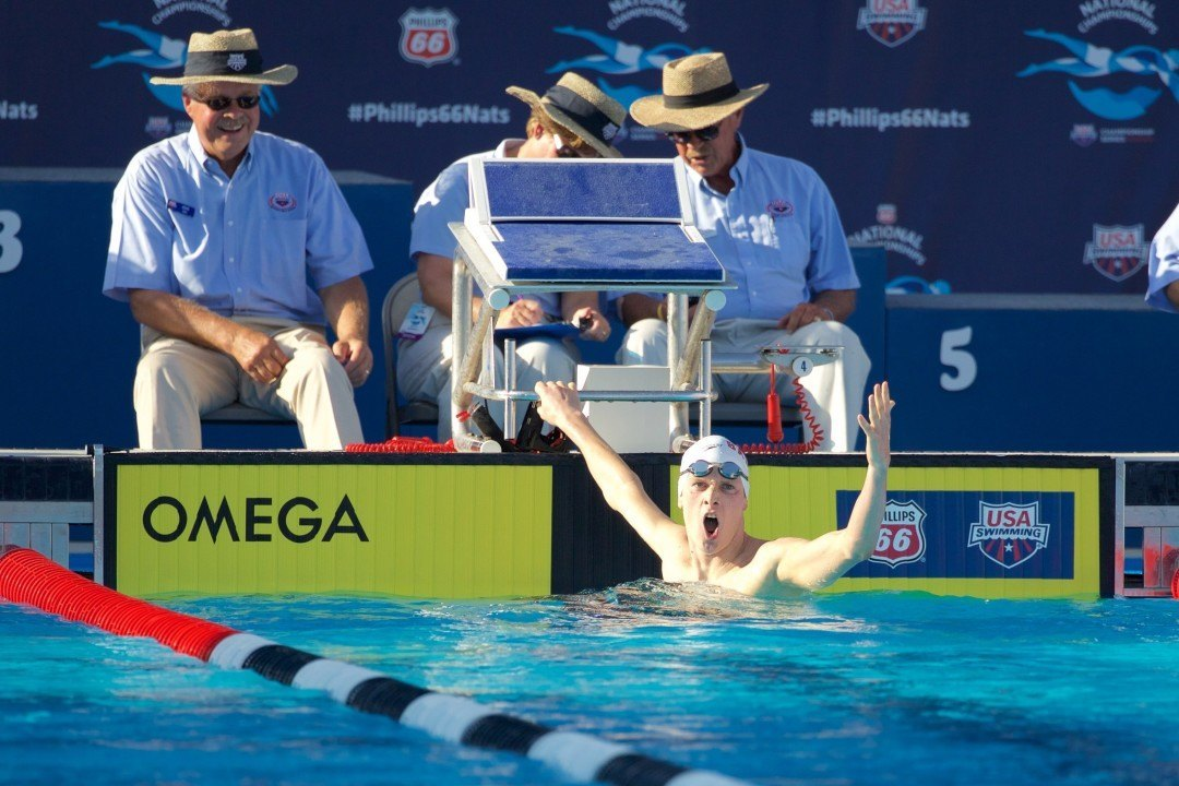 Olympic Hopefuls to Headline Arena Pro Swim Series at Indianapolis