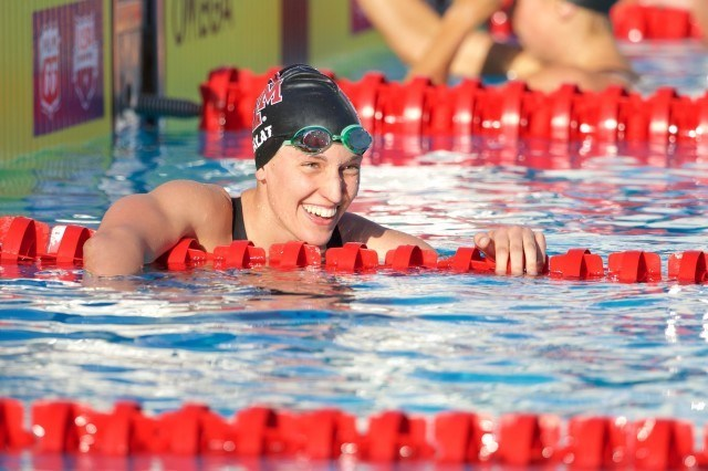 Beata Nelson in prelims on Day Two of U.S. Nationals (courtesy of Rafael Domeyko)