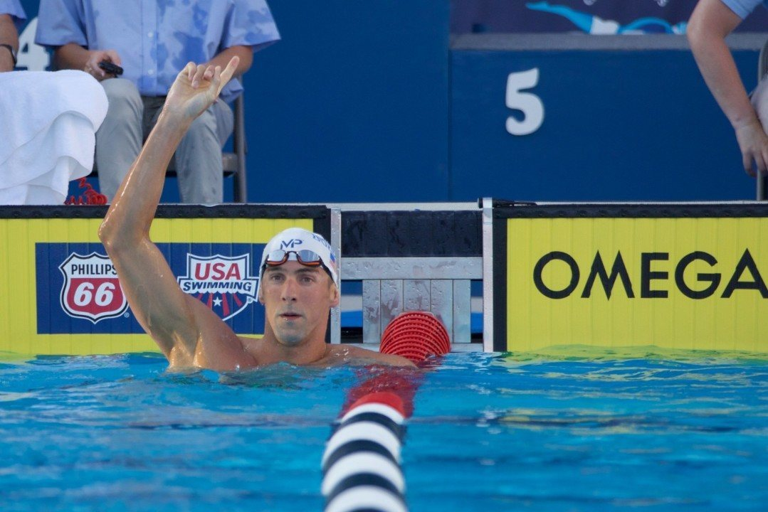 "Chad Le Clos: ""Phelps Can Keep Quiet Now"""