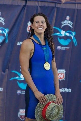 Laura Sogar, National Champion in women's 200m breaststroke (courtesy of Rafael Domeyko)