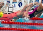 USA's Missy Franklin posts a solid 200m backstroke heat time of 2:07.84, (courtesy of Tim Binning, theswimpictures.com)