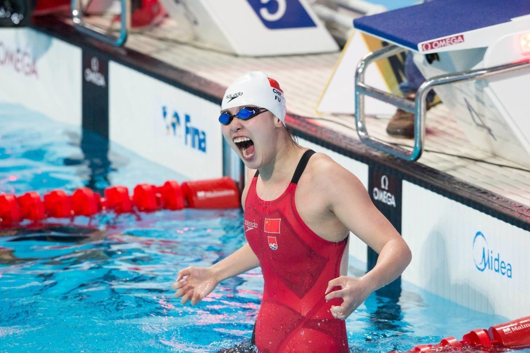 Fu Yuanhui Downs National Record with 58.7 100 Back at Chinese Nationals