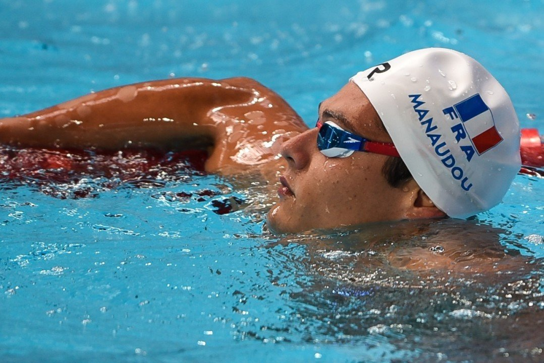 Manaudou Posts 48.00 100 Free to Close Marseille Golden Tour