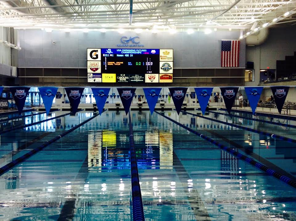 Backstroke Wedges Malfunction in Greensboro; Alter Competition Format