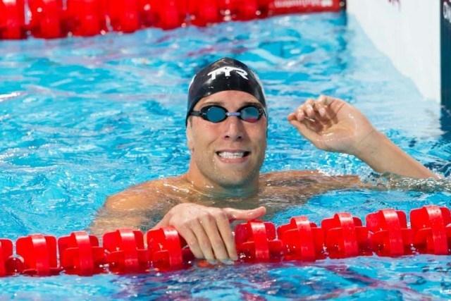 Matt Grevers - 100 backstroke - 2015 World Championships  (courtesy of Tim Binning, theswimpictures.com)