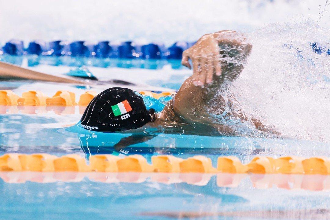 Giovanni Izzo Nuota Il Teampo Limite Per Gli Europei Di Glasgow
