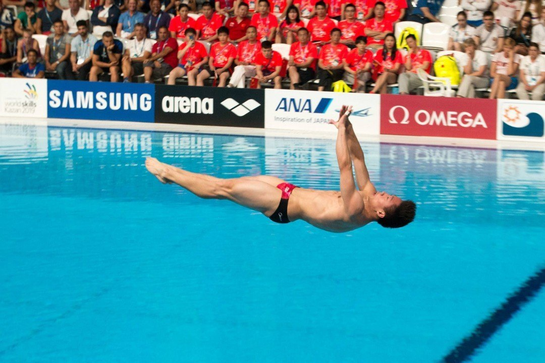 China Keeps Sweep In-Tact; Americans Get Second Medal in Men's Platform Synchro