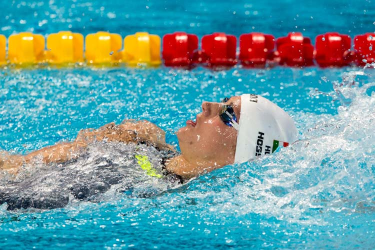 Hosszu Starts Day 2 with National Record for 100m Backstroke