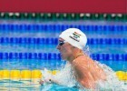 Katinka Hosszu (HUN) went 4:32.78 to lead the field into the final of women's 400m IM at 2015 FINA World Championships  (courtesy of Tim Binning, theswimpictures.com)