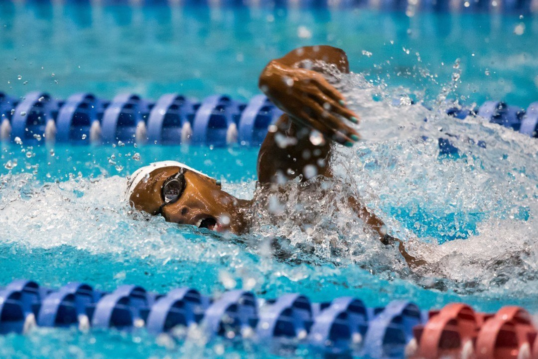 Natalie Hinds Explains Return to Swimming with UGA Post-Grad Group (Video)