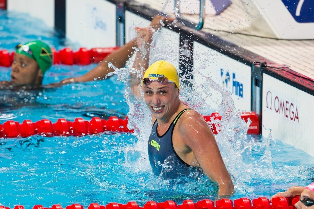 Jennie Johansson Breaks Swedish 100 BR Record With 1:06.30