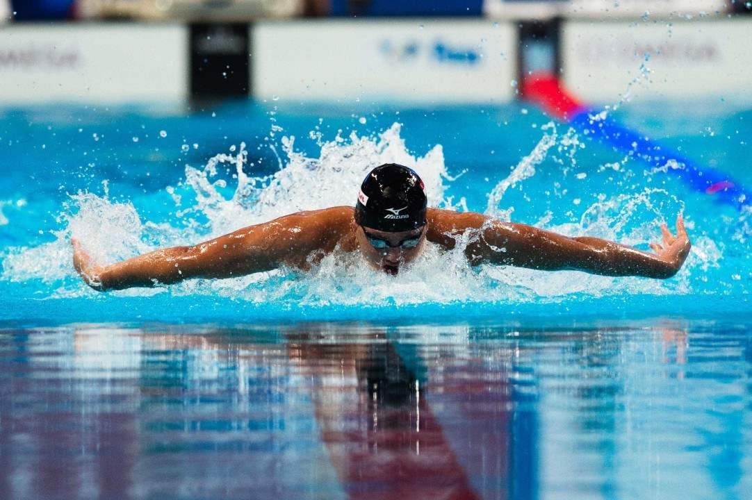 Schooling Breaks Asian Record in 100 Fly