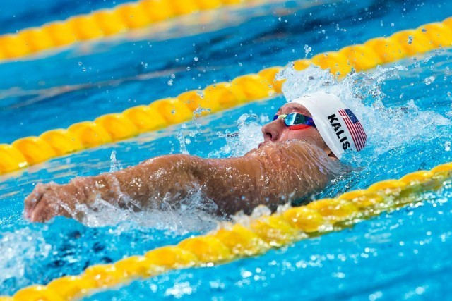 Chase Kalisz (USA) was the top qualifier for the men's 400m IM with 4:11.83. 2015 FINA World Championships  (courtesy of Tim Binning, theswimpictures.com)
