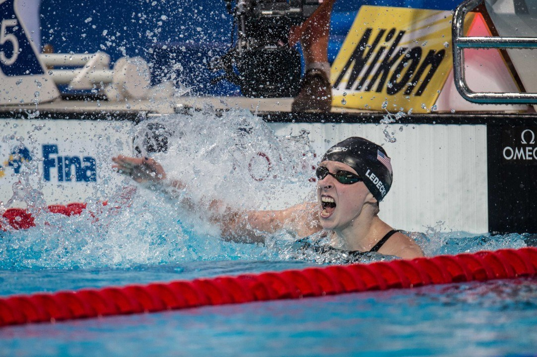 Swimming's TopTenTweets of the Week: #4 HBD Katie Ledecky!