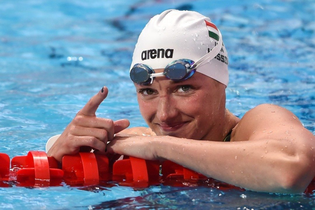 2015 Swammy Awards: Female European Swimmer of the Year Katinka Hosszu
