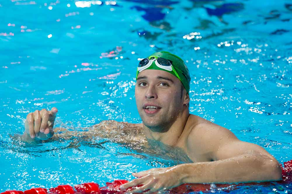Le Clos Records Season's Best 200 Freestyle in Stellenbosch