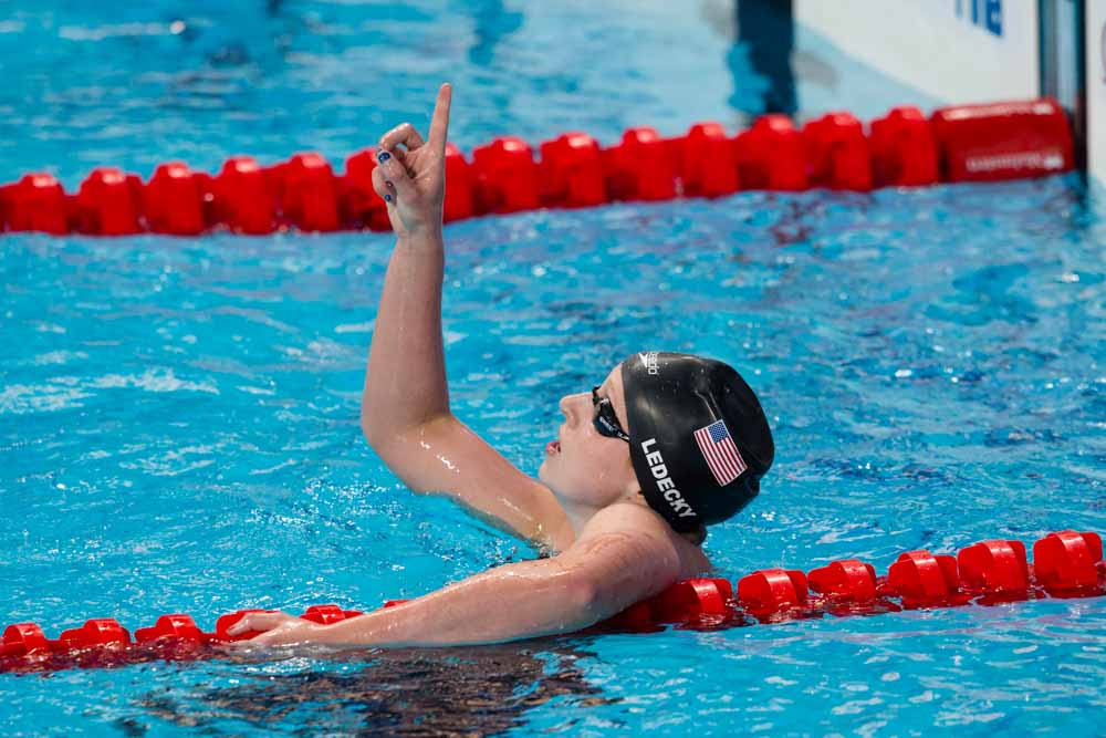 Katie Ledecky Makes Forbes 30 Under 30 Athletes List