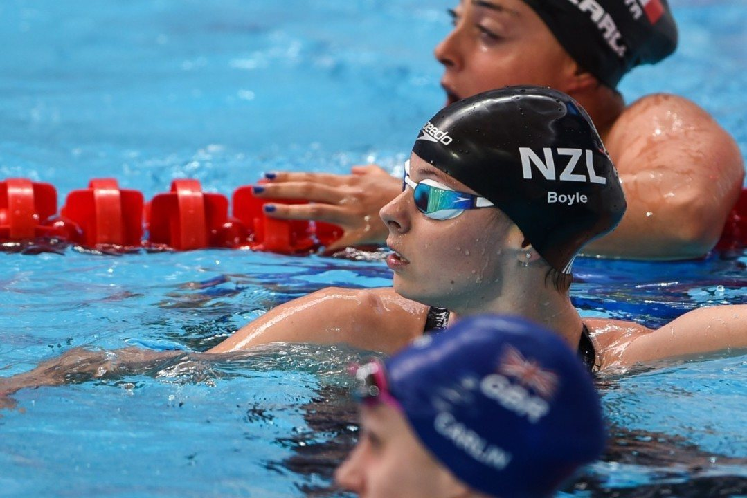 Boyle Nominated for New Zealand's Sportswoman of the Year Award