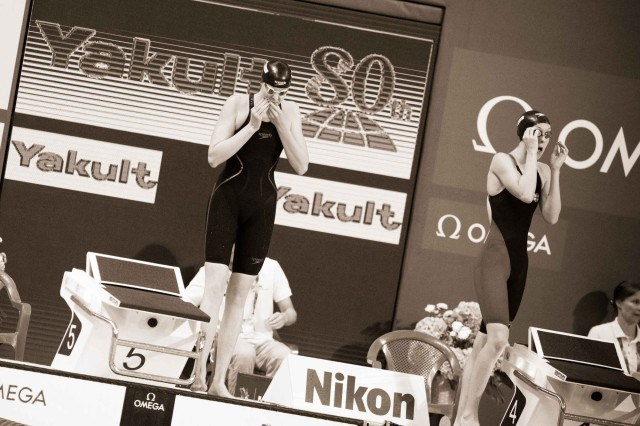 Lauren Boyle at at the 2015 FINA world championships Kazan Russia (photo: Mike Lewis, Ola Vista Photography)