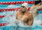 Matt Grevers in the prelims of the 50 backstroke at the 2015 FINA world championships Kazan Russia (photo: Mike Lewis, Ola Vista Photography)