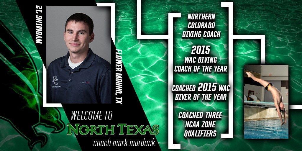North Texas Hires New Diving Coach