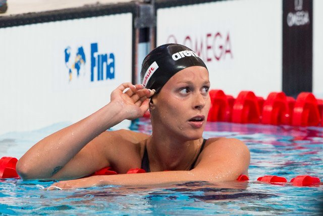 Pellegrini Breaks Her Own National Record in the 100 Freestyle