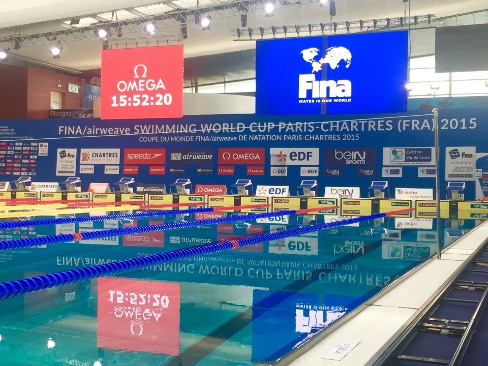 FINA World Cup 2016: 9 stops, starts in Chartres/France next week