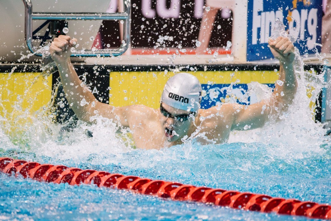 Robert Glinta Cruises to 100 Back Title on Day 3 of Romanian Champs