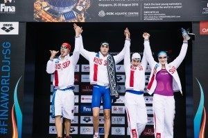 Russian Women Smash 4x100m Medley Junior World Record