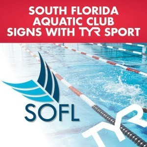 South Florida Aquatic Club signs with TYR Sport, 2015