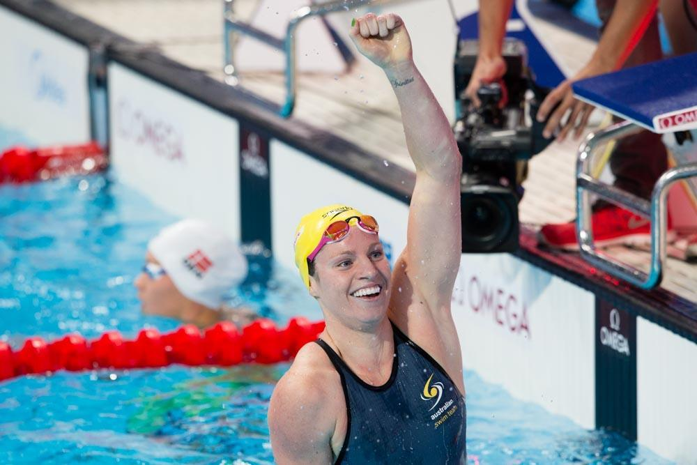 Emily Seebohm Dips Under 2:00 in 200 Back in Night 2 Aussie SC