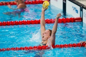 Sjöström Just Misses Her Own World Record in the 100 Butterfly
