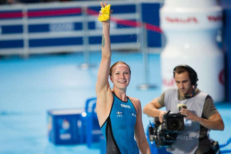 Sjöström Takes Three Events on the First Day of the Swedish Grand Prix
