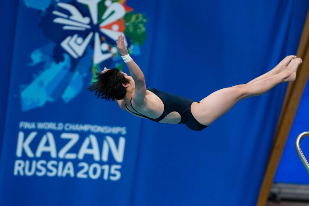 China win 9 of 10 golds at the Singapore FINA Diving Grand Prix