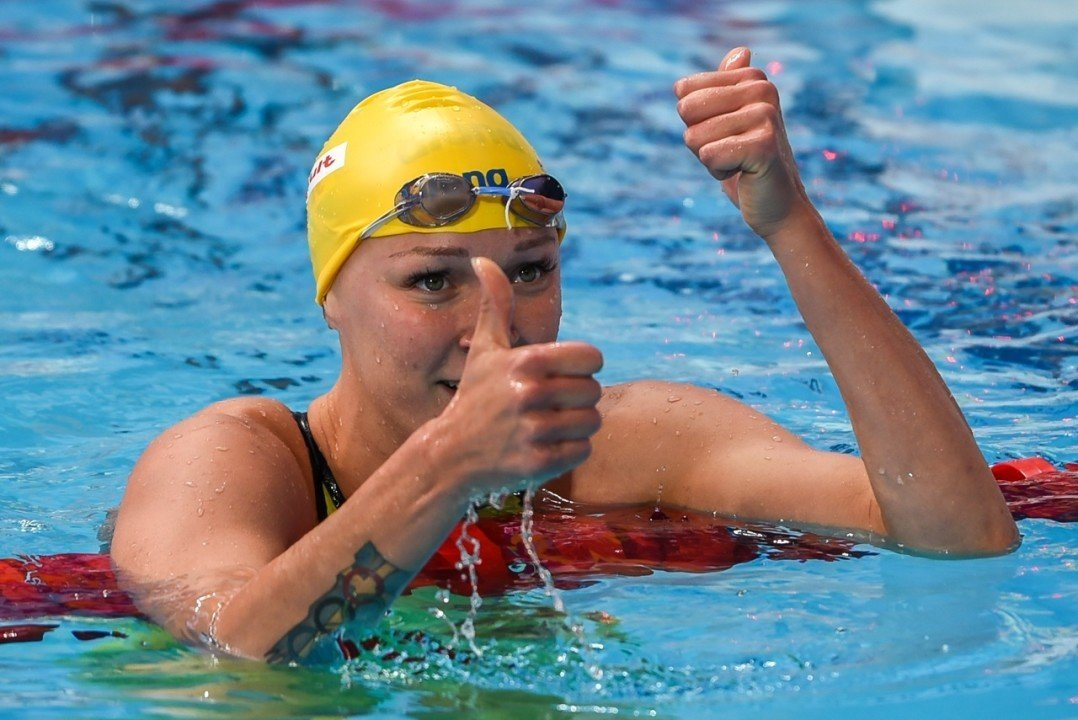 Sjostrom Heads For Another Stunning Double In Canet
