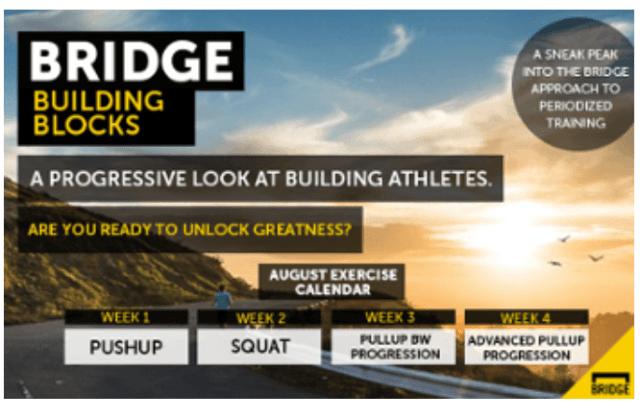 bridge athletic, building blocks progression, 2015 advertorial banner (courtesy of BA)