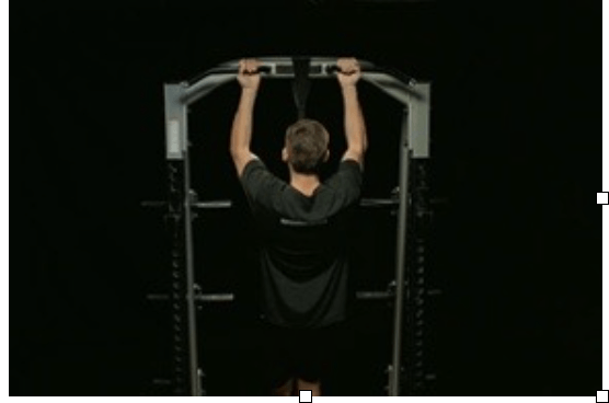 Assisted Hammer-Grip Pulldown (courtesy of BridgeAthletic, a swimswam partner)