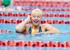 Sophie Hansson Blasts 57.95 100 Breast: 2nd-Fastest Freshman All-Time