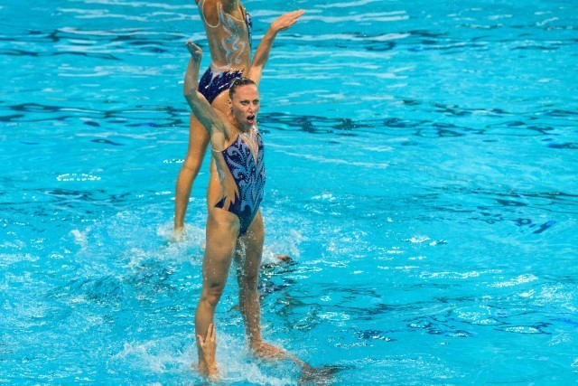 2015 World Championshps Synchronized Swimming (photo: Mike Lewis, Ola Vista Photography)