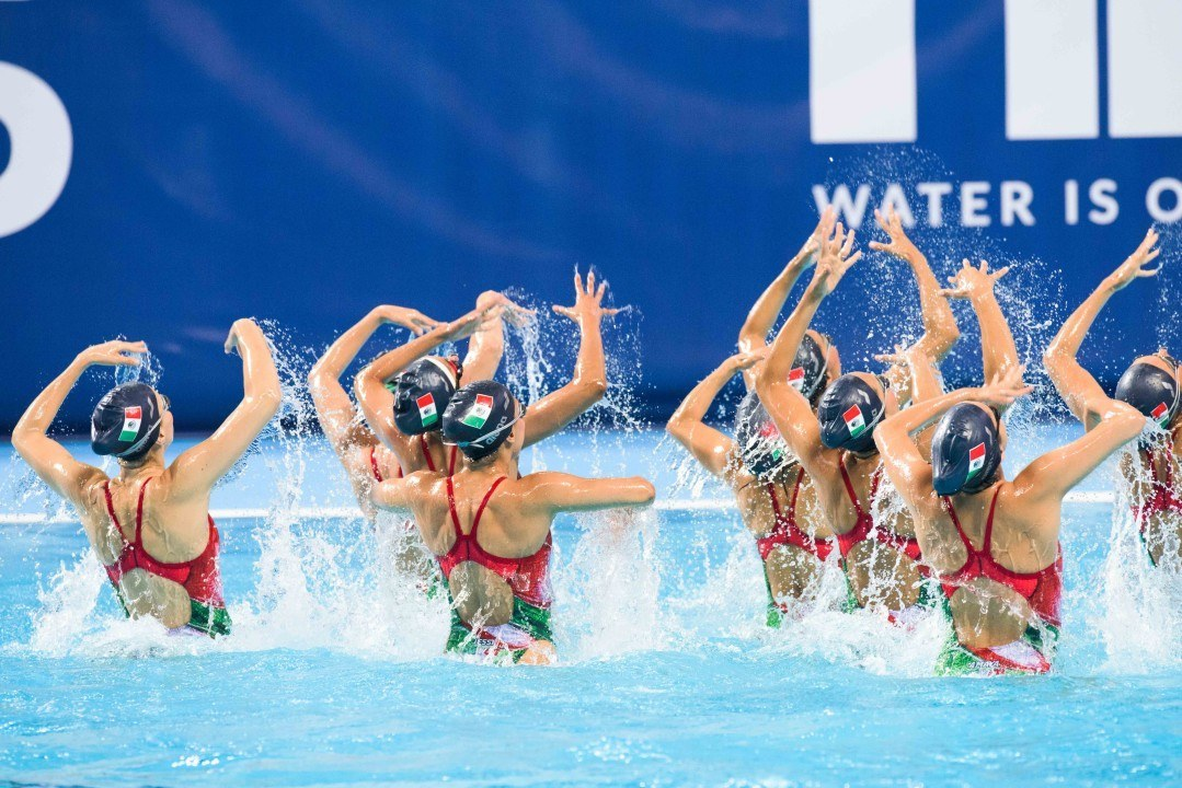 Four Nations Share Gold At FINA Synchronized Swimming World Series
