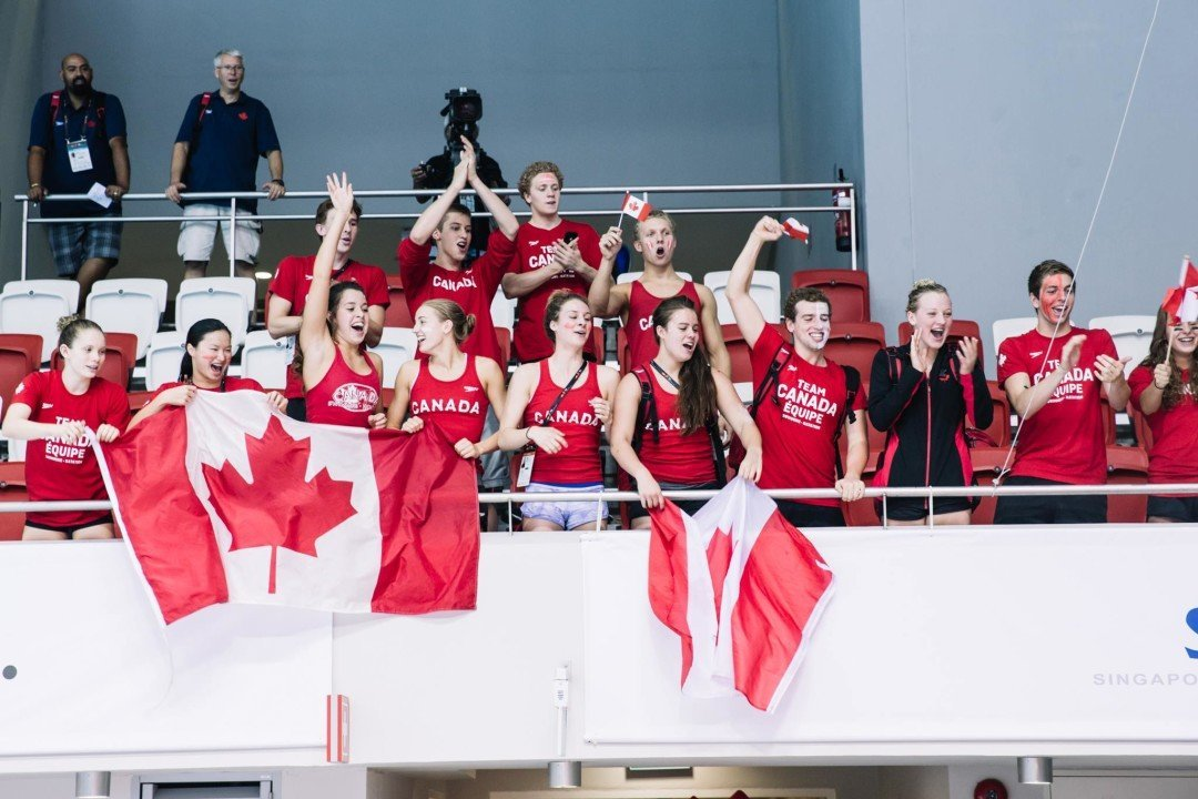 Swimming Canada Proposes Removal of SC Qualifying Times For National Meets