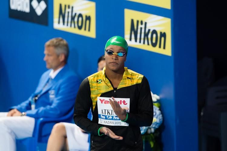 Alia Atkinson Goes Sub 1:06 For New Jamaican National Record