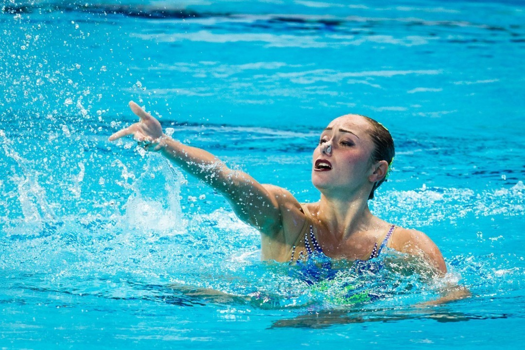 Russian Synchro Swimmers Continue To Shine On Day 2 In Budapest
