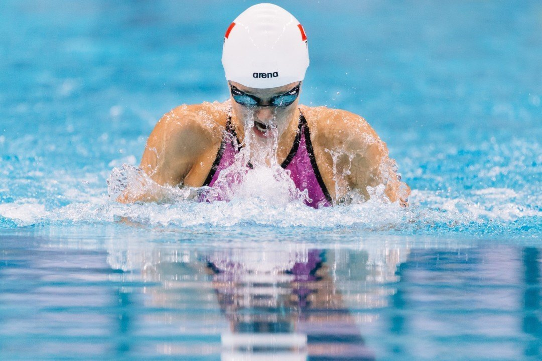 Turkey's Viktoria Zeynep Gunes Sets new Turkish Record in 200m Breast